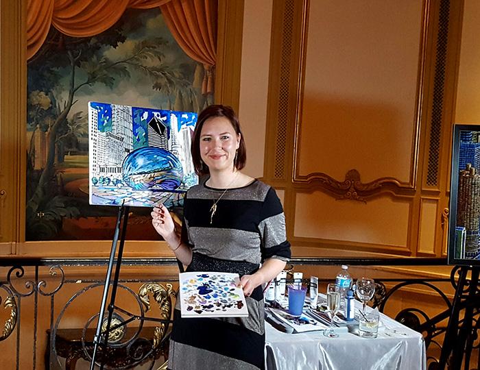 Anastasia Mak Chicago Hilton