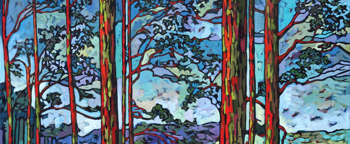 Anastasia Mak trees