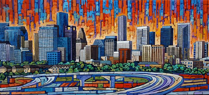 houston painting by anastasia mak
