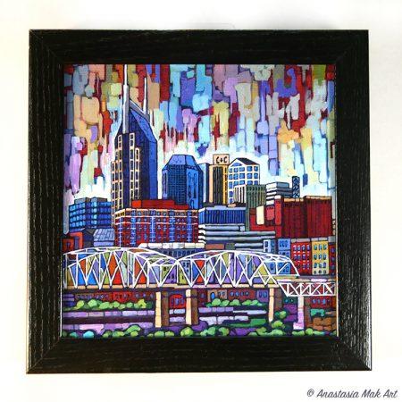 Nashville Box Frame Print