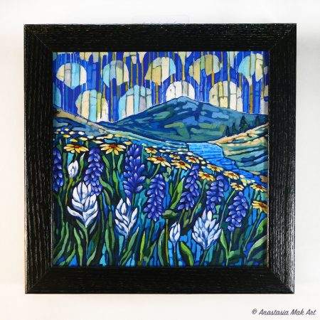 Colorado Wildflowers Box Frame Print