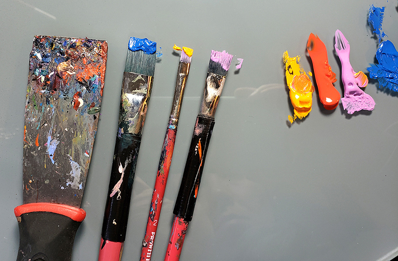 Studio painting tools