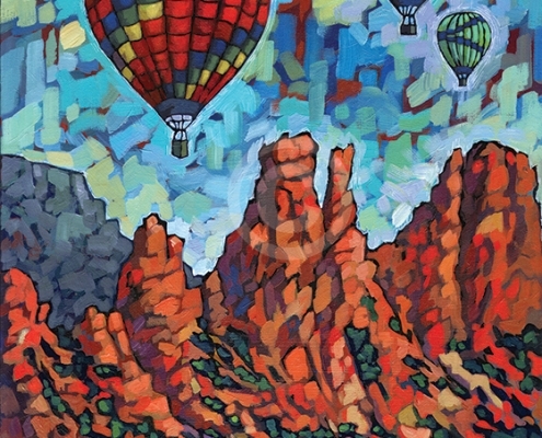 Sedona Flight painting