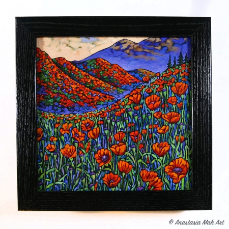 Superbloom box frame print
