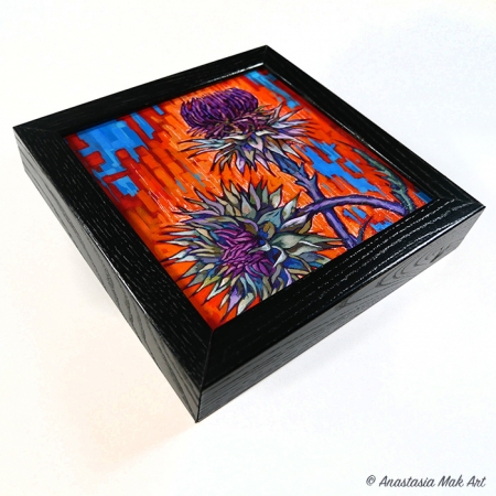 Thistle Box Frame Print