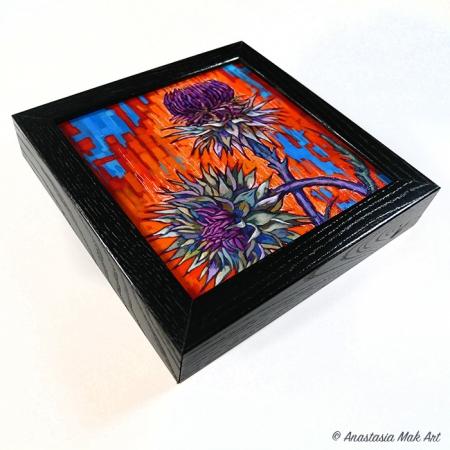 Thistle Box Frame Print