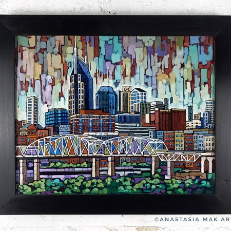 Nashville painting by Anastasia Mak