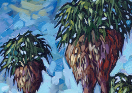 Lost Palms Oasis - PAINTING DETAIL