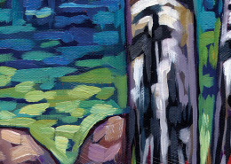 Lake Guardians - painting DETAIL